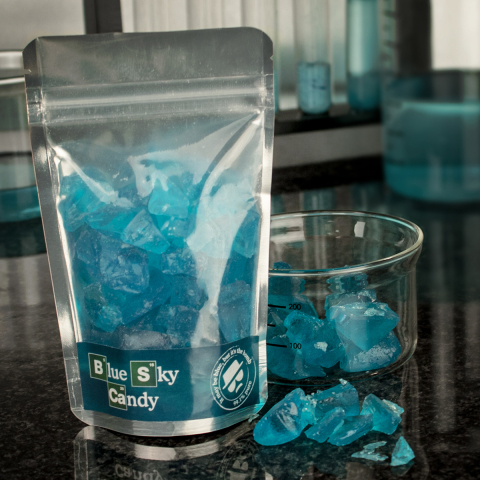 "Blue Sky ""Crystal Menth"" Candy - Pfefferminz Bonbons"